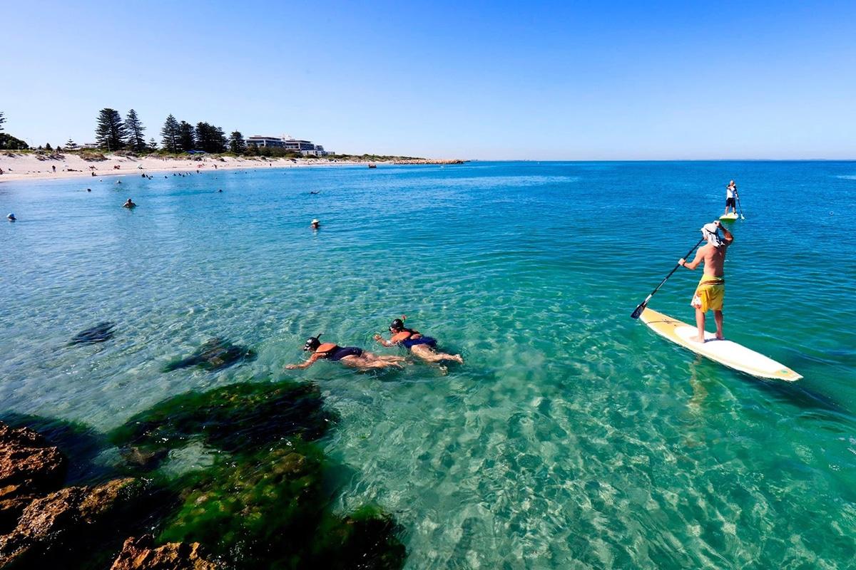 Лучшие пляжи Перта для посещения этим летом Южный пляж