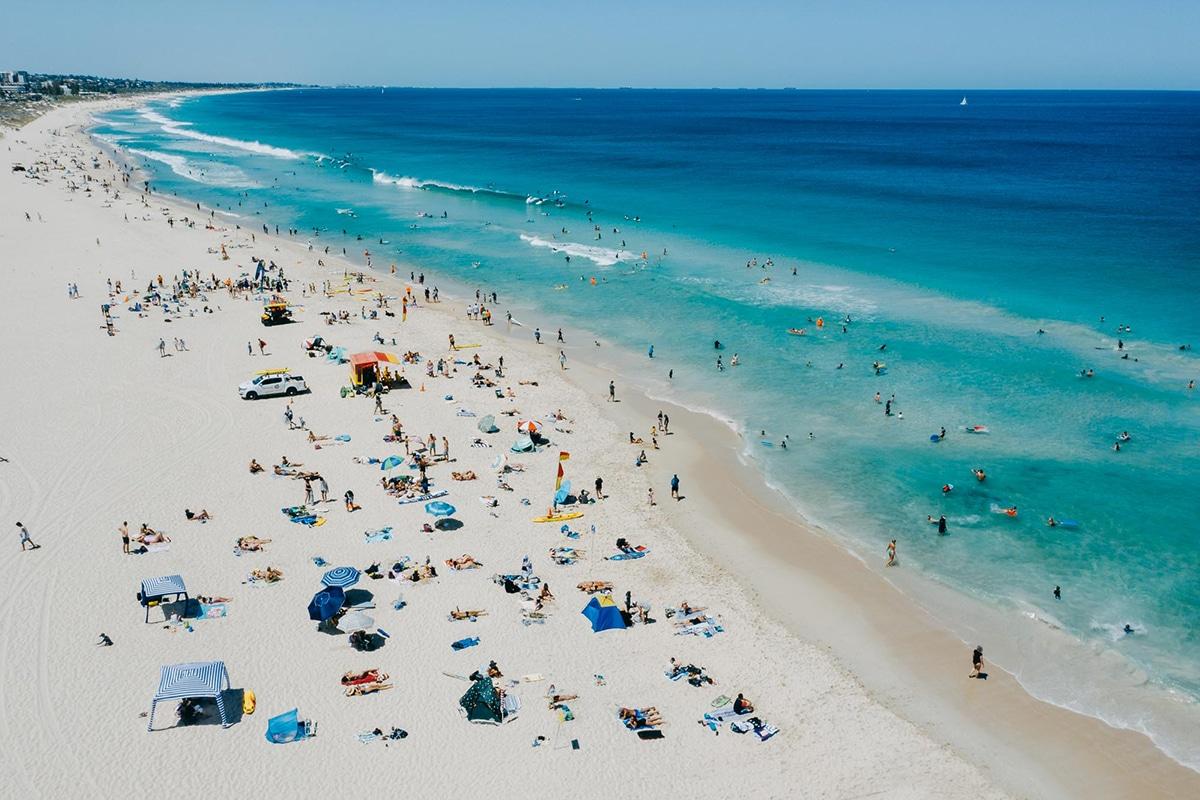 Лучшие пляжи Перта для посещения этим летом Trigg Beach