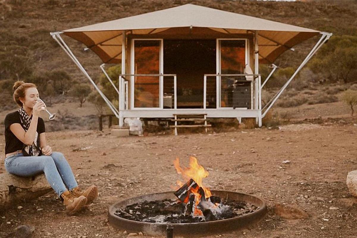 Best Glamping Spots Near Adelaide Flinders Bush Retreats