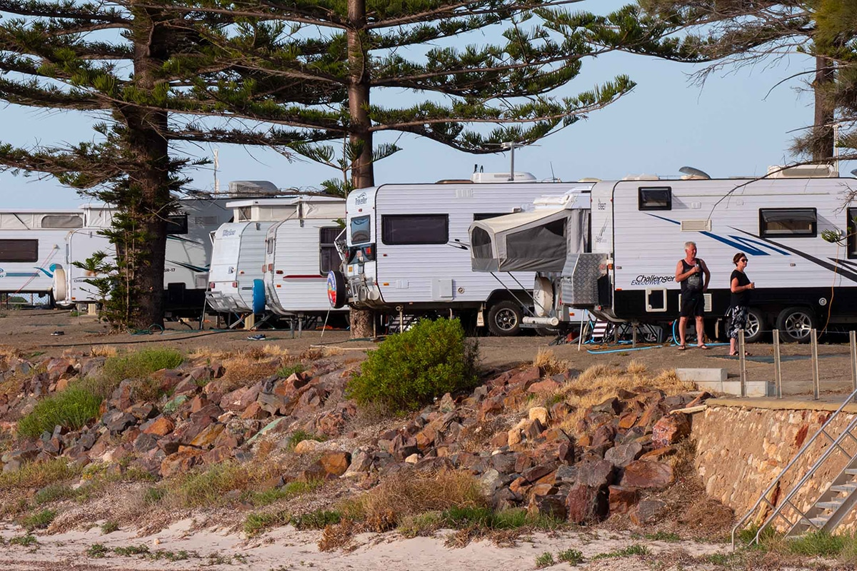 Best Glamping Spots Near Adelaide Moonta Bay Holiday Park