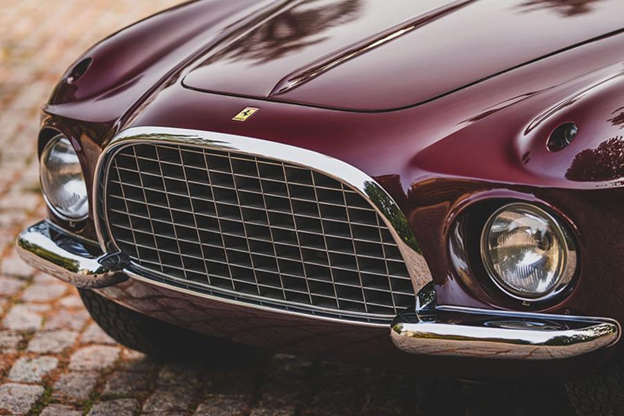 1954 Ferrari 375 America Coupe depan