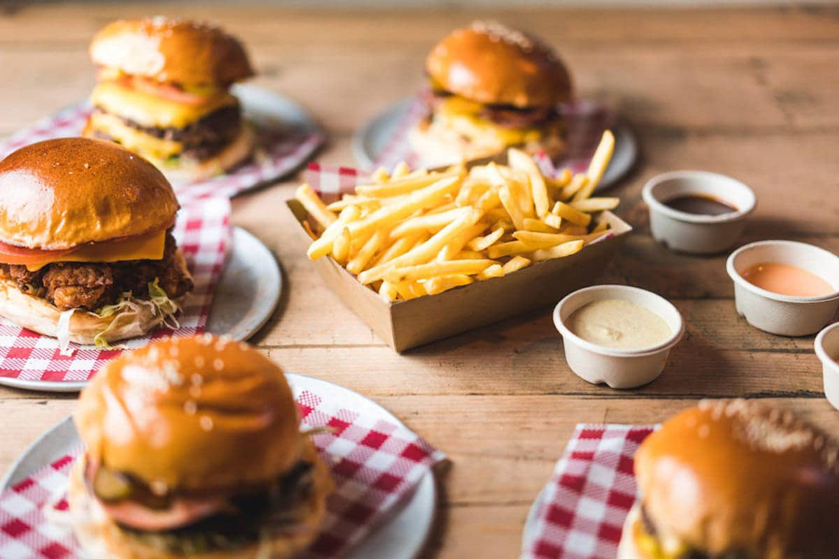 Spots for the Best Burgers in Perth Short Order Burger Co.