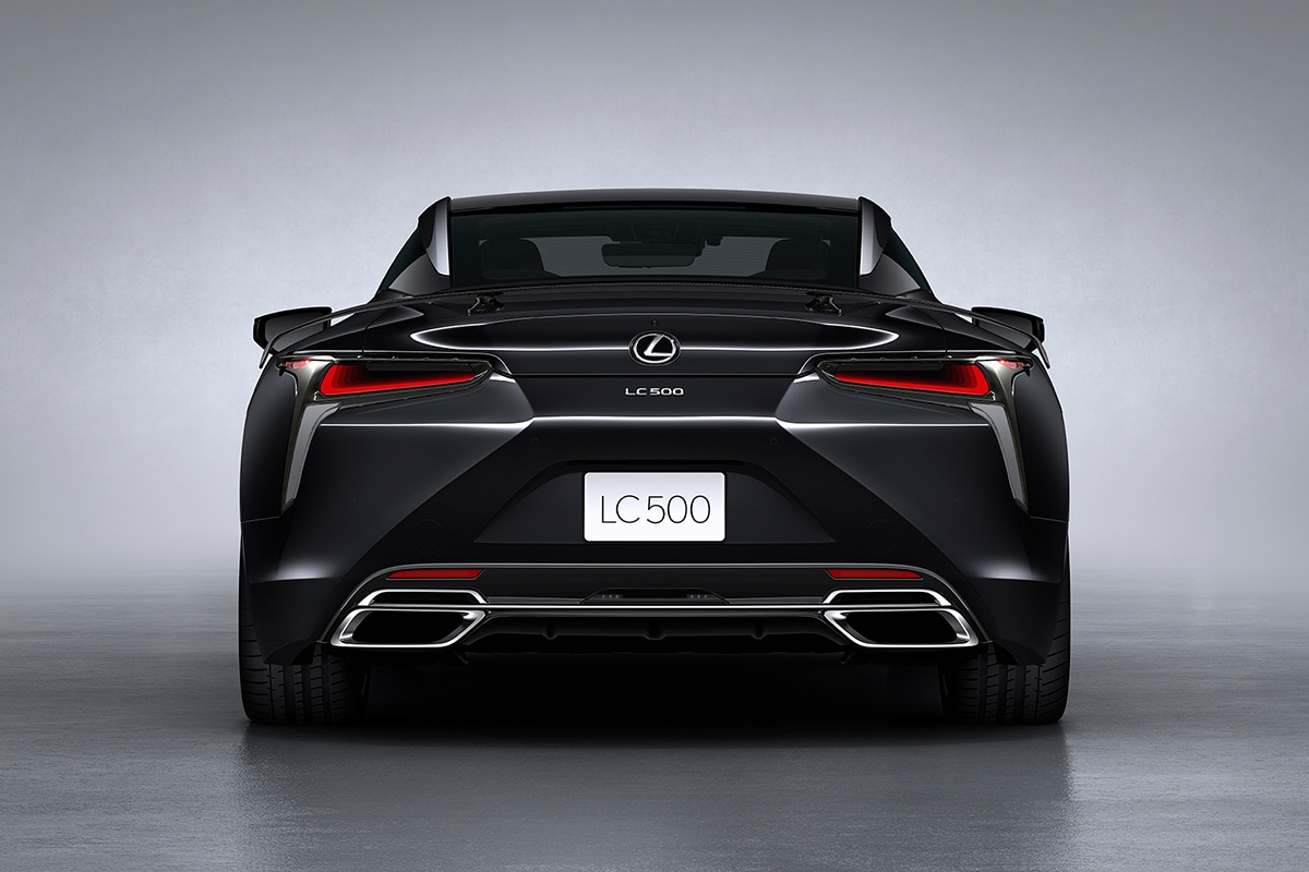 2021 Lexus LC 500 Inspiration Series Coupe back
