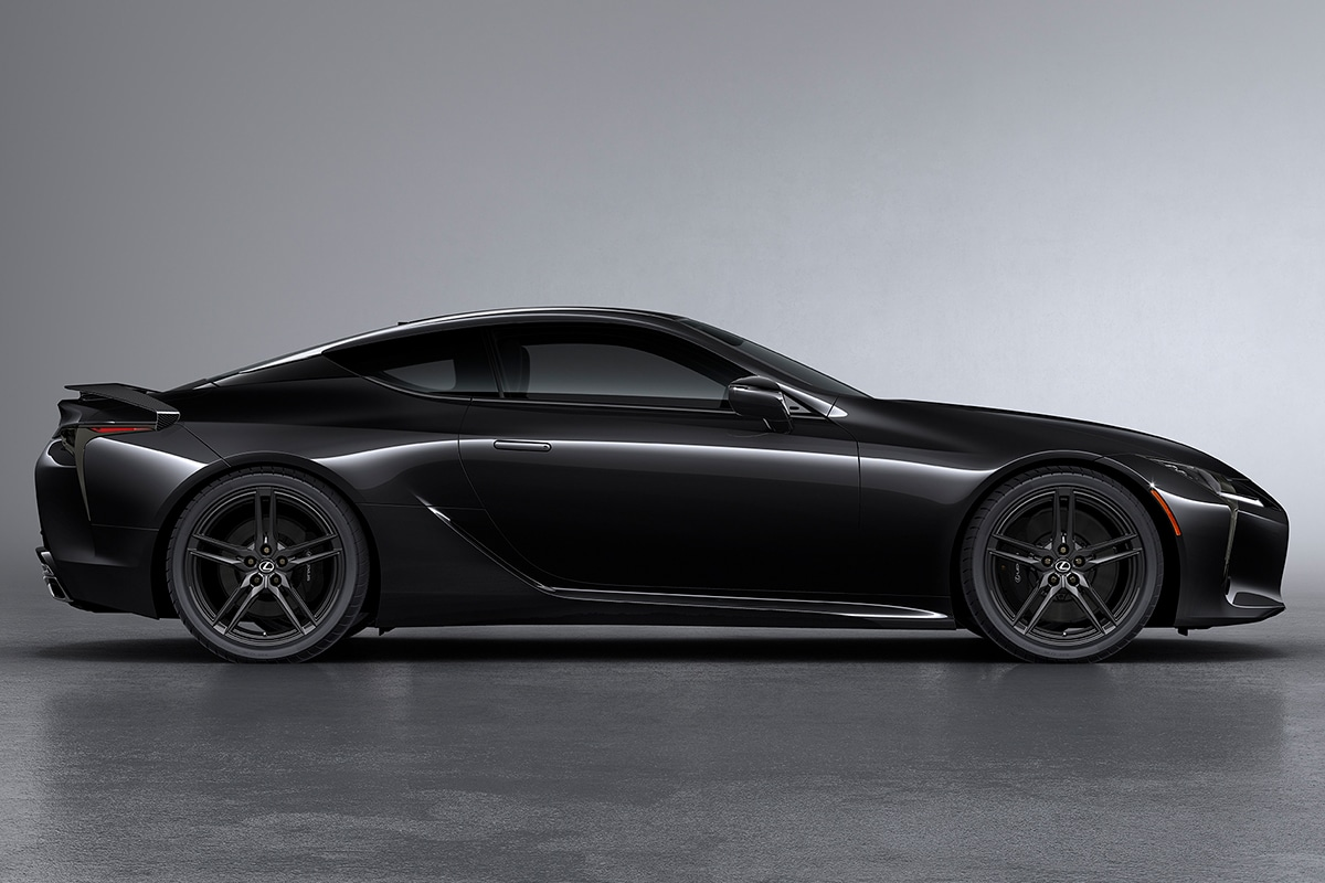 2021 Lexus LC 500 Inspiration Series Coupe side