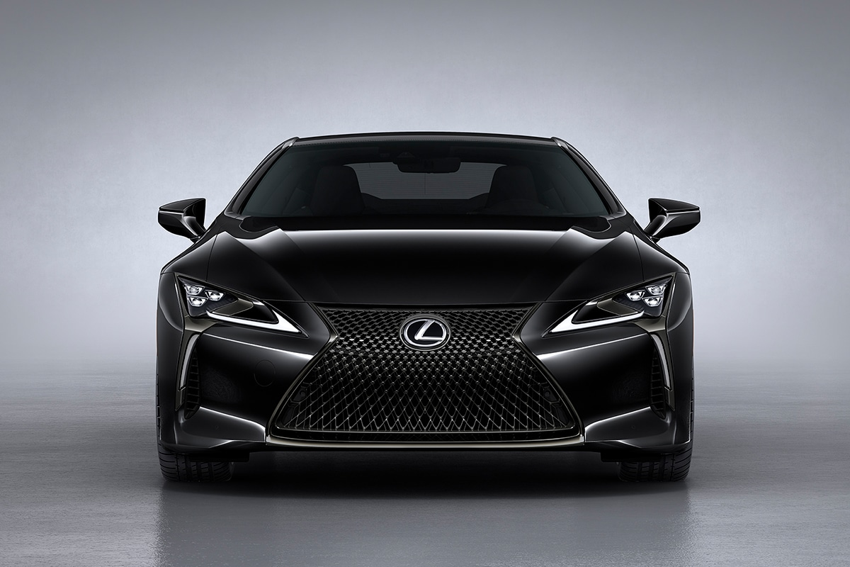 2021 Lexus LC 500 Inspiration Series Coupe front