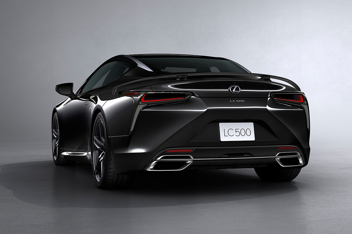 2021 Lexus LC 500 Inspiration Series Coupe rear side