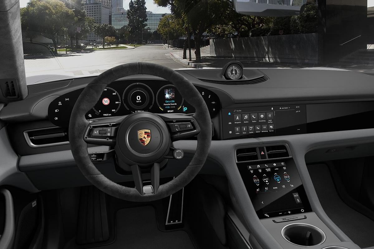 2021 Porsche Taycan Sedan dashboard