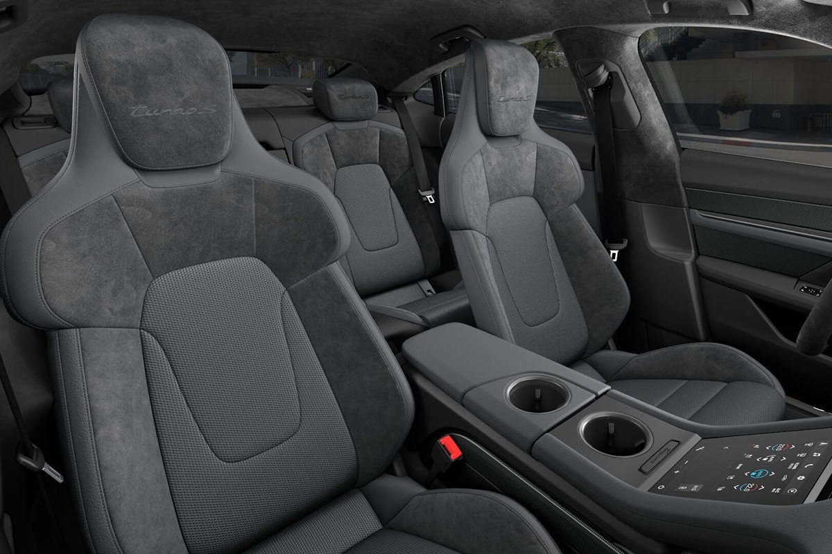 2021 Porsche Taycan Sedan seats
