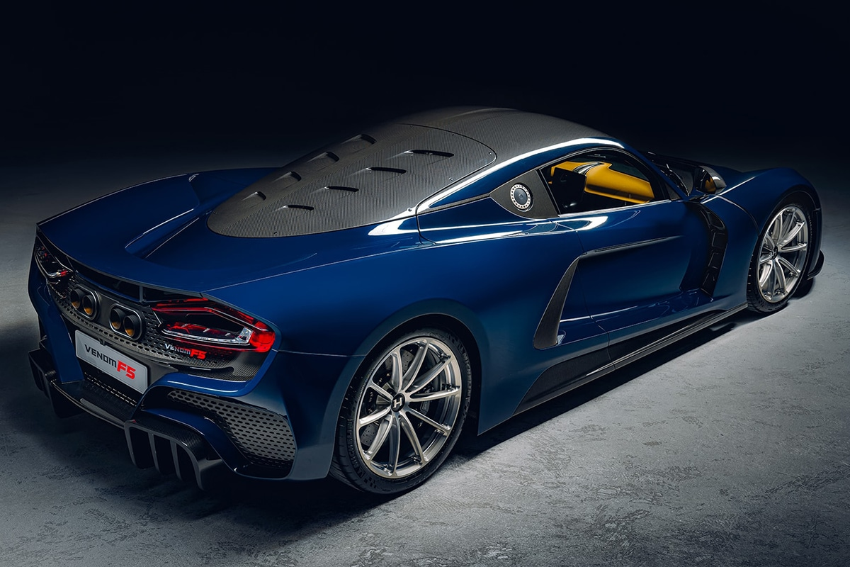 2021 Venom f5 rear side