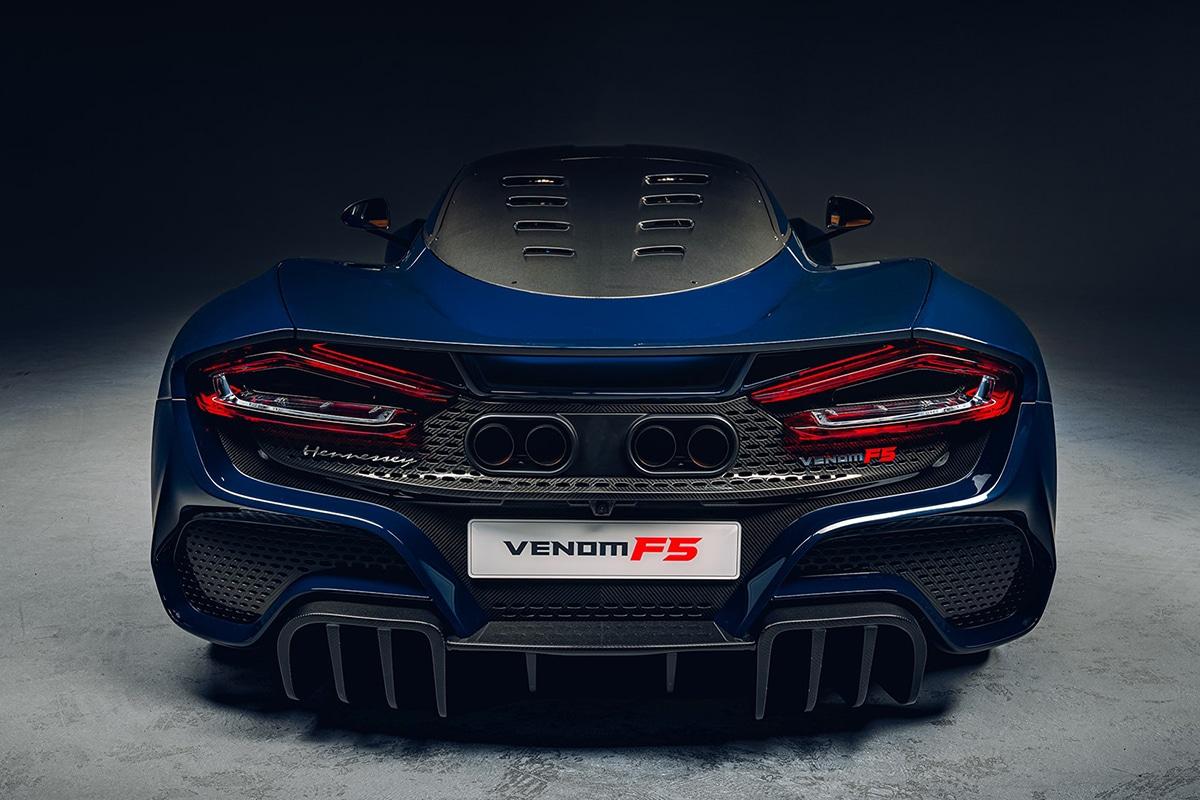2021 Venom f5 back