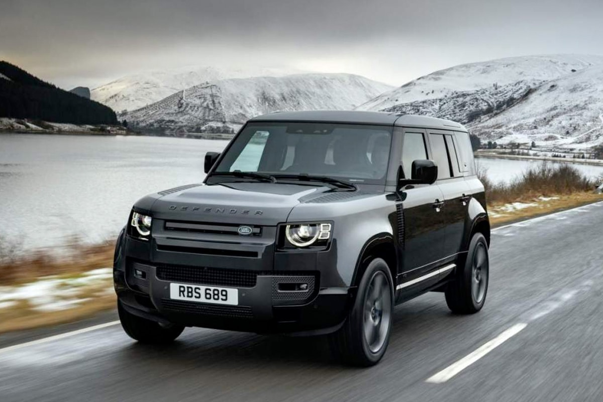 2022 Land Rover Defender is Copping a 518-HP Supercharged V8