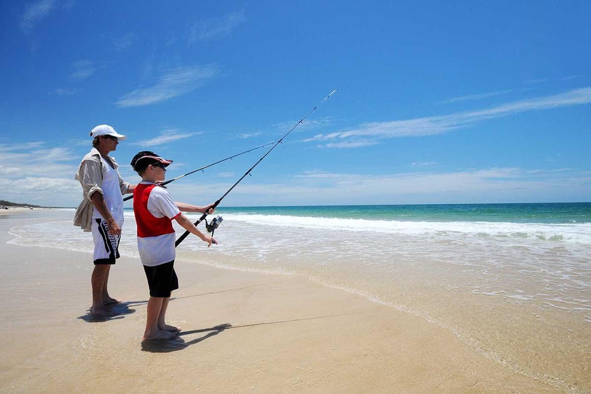 Best Fishing Spots In Brisbane Bribie Island