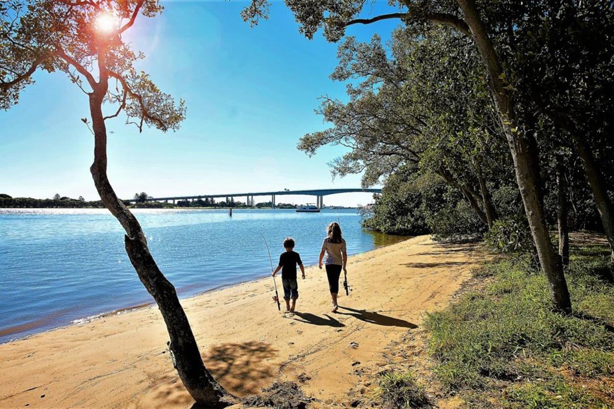 Best Fishing Spots In Brisbane Colmslie Recreation Reserve
