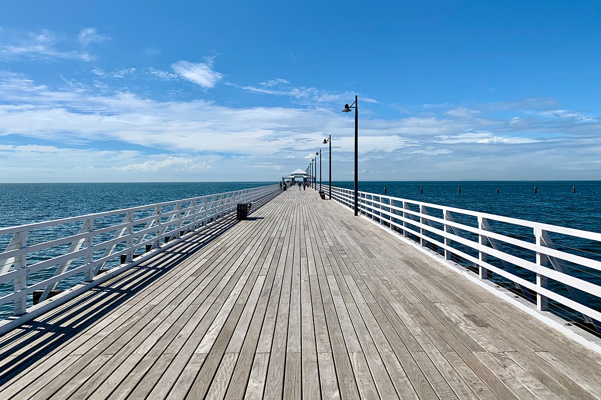 Best Fishing Spots In Brisbane Shorncliffe Pier, Shorncliffe