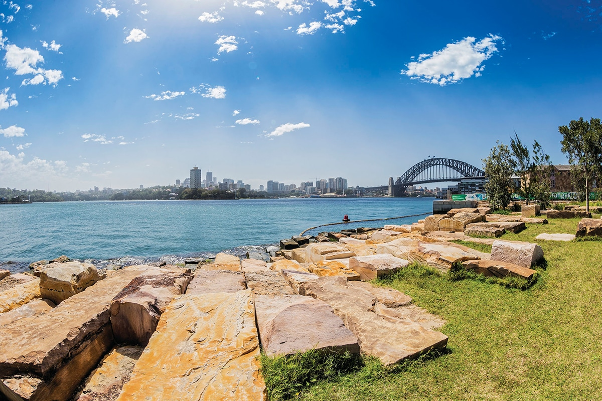 Best Views and Lookout Points in Sydney Barangaroo Reserve