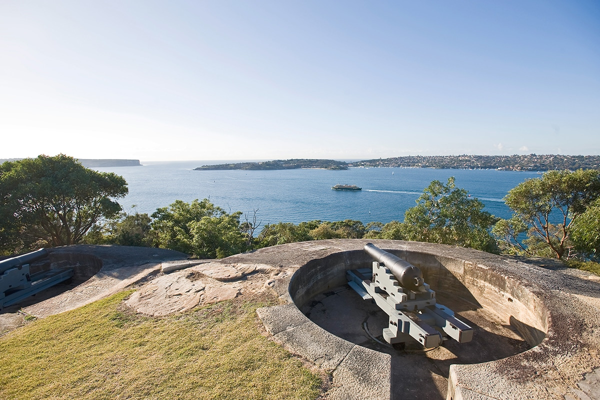 Best Views and Lookout Points in Sydney Georges Head Lookout