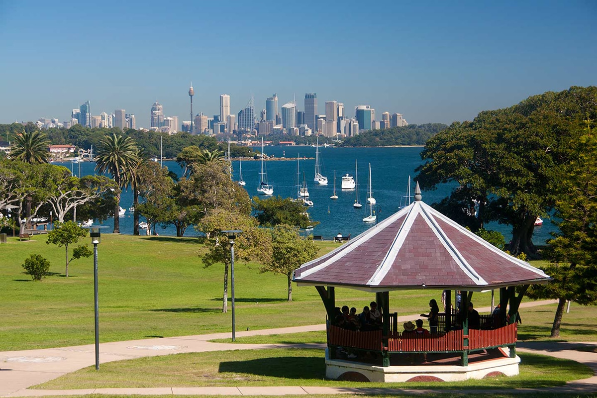 Best Views and Lookout Points in Sydney Robertson Park