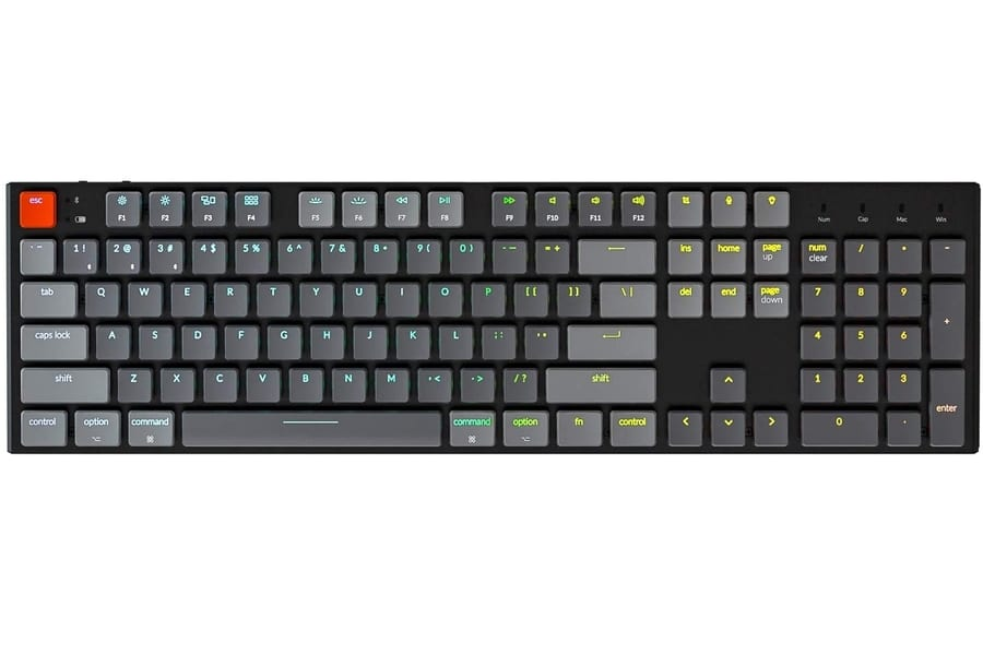 Keychron K1 v4 Low-Profile Bluetooth Keyboard