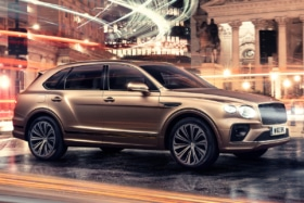 Bentayga Hybrid front view