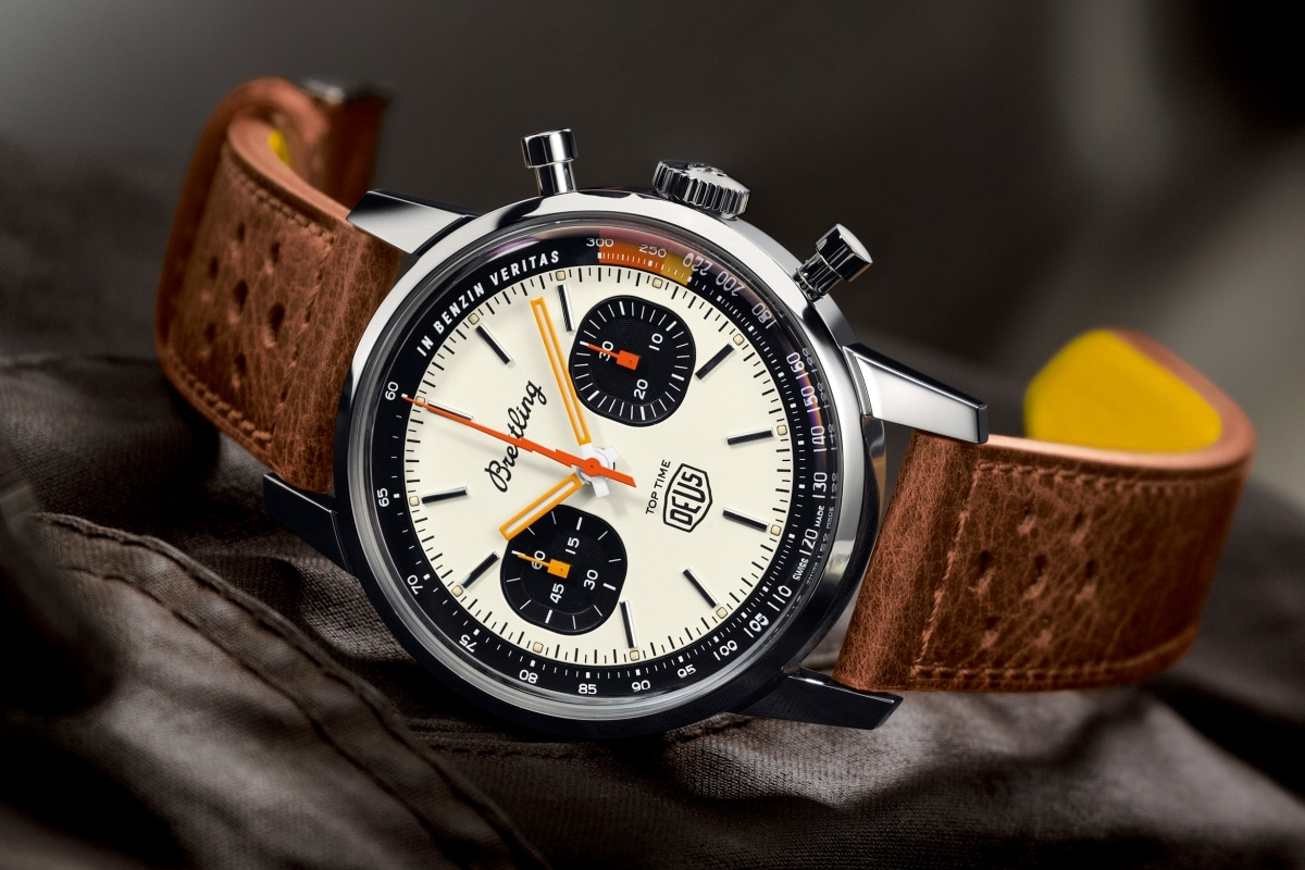 Breitling Top Time Deus Limited Edition is an Ode to Adventure in All Forms