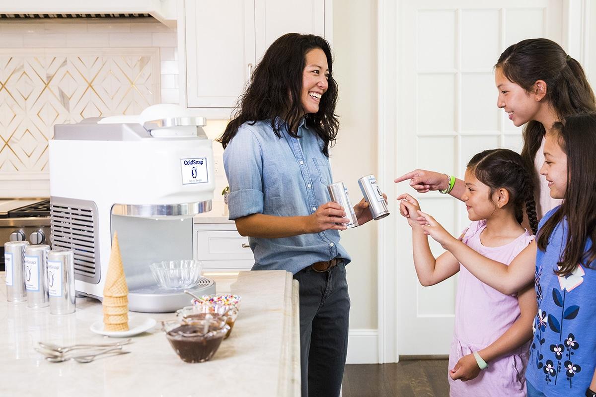 ColdSnap Soft-Serve Ice Cream Maker choose pod