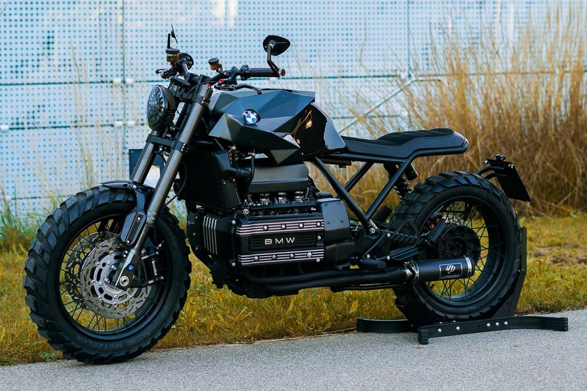 Кривые мотоциклы на заказ BMW K100 — незаметная красота |  Человек многих