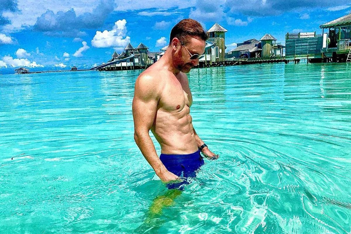 David Guetta body