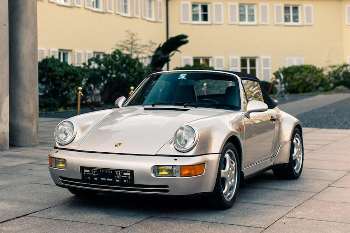 Deigo Maradona's Porsche