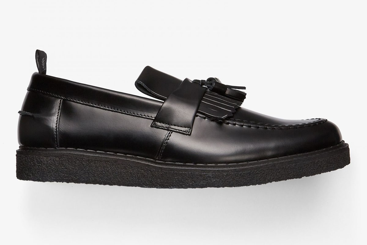 Fred Perry x George Cox loafers