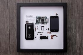 Grid Studio Framed Smartphones 3gs