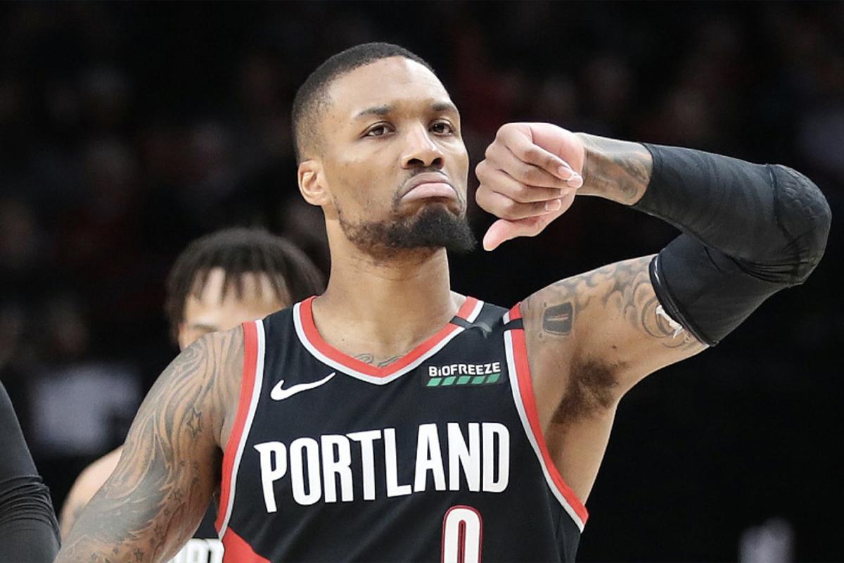Highest Paid NBA Players 2021 - Damian Lillard
