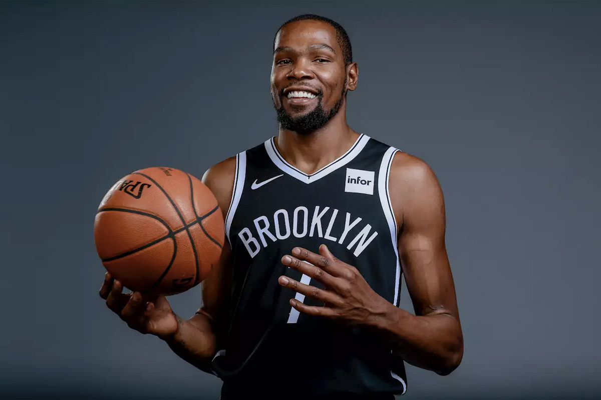 Highest Paid NBA Players 2021 - Kevin Durant