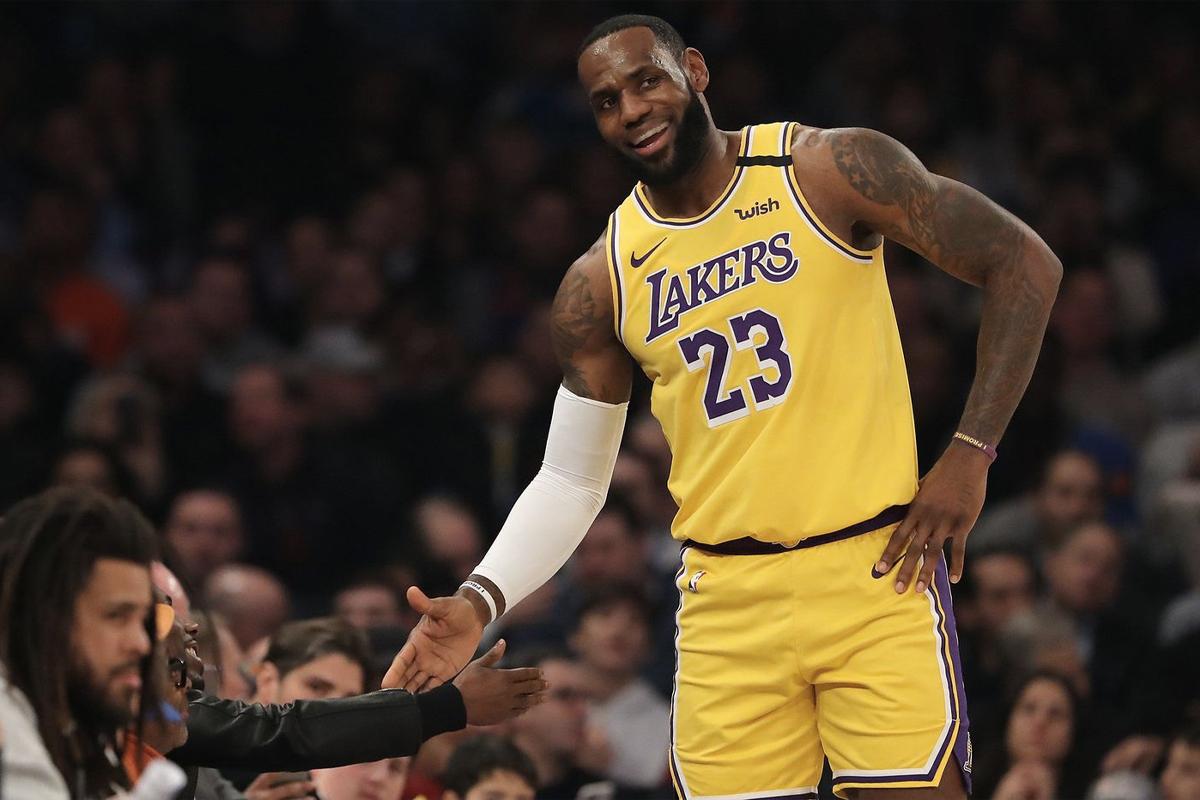 Highest Paid NBA Players 2021 - LeBron James 2