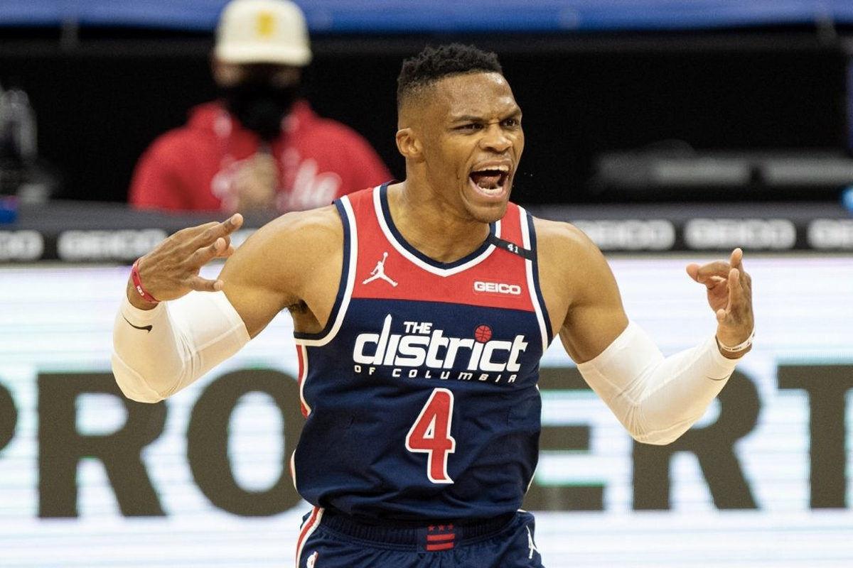Highest Paid NBA Players 2021 - Russell Westbrook