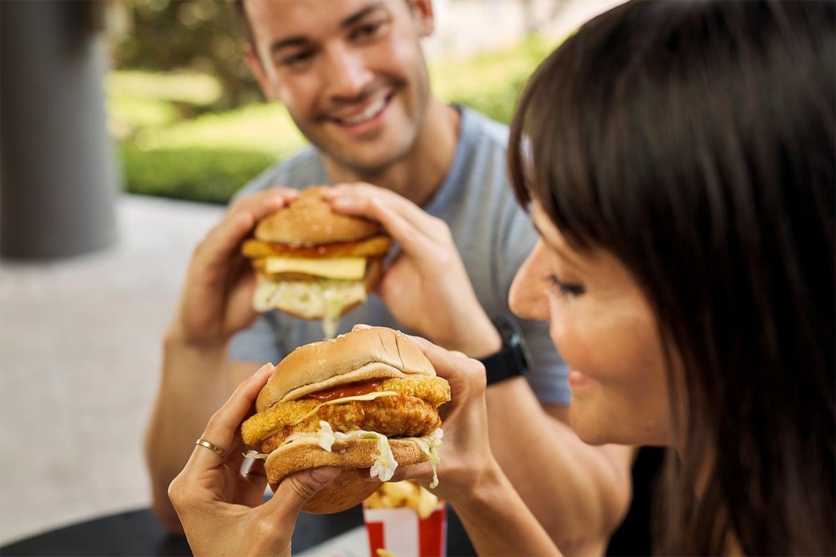 KFC Tower Burger