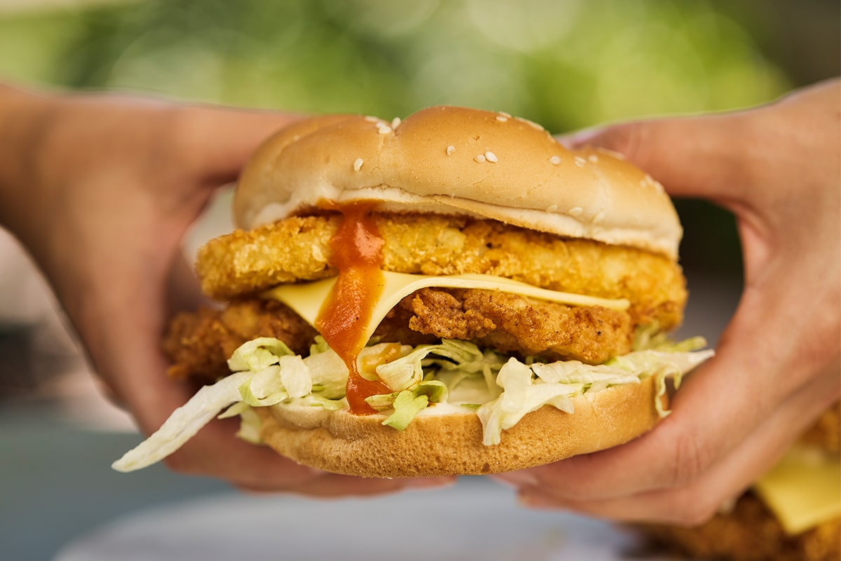 KFC Tower Burger 2