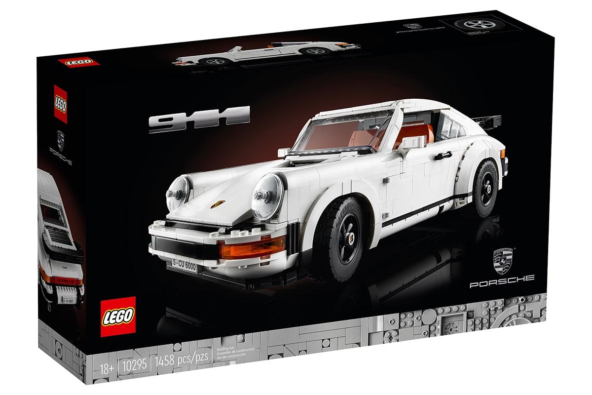 Lego Porsche 911 Building Set box front