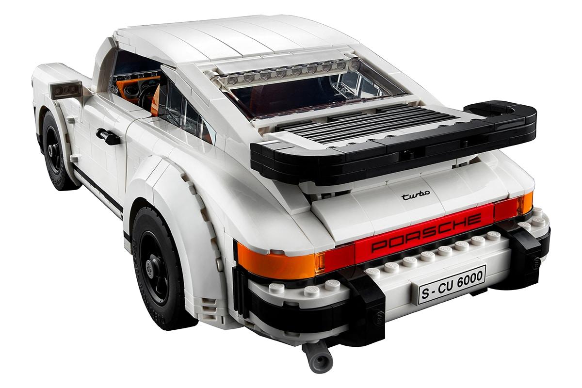 Lego Porsche 911 Building Set back