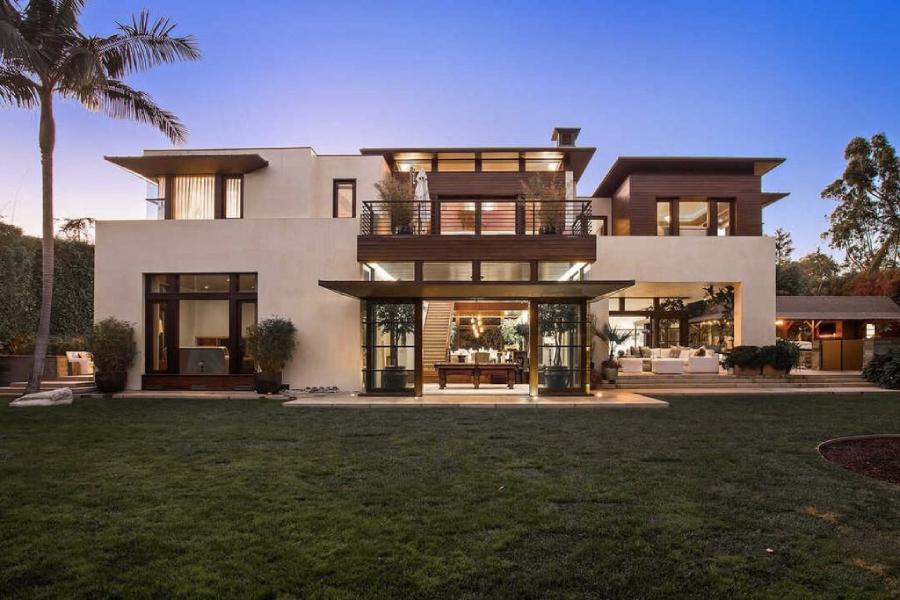 Matt Damon's California house