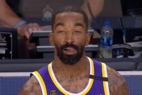 An NBA player