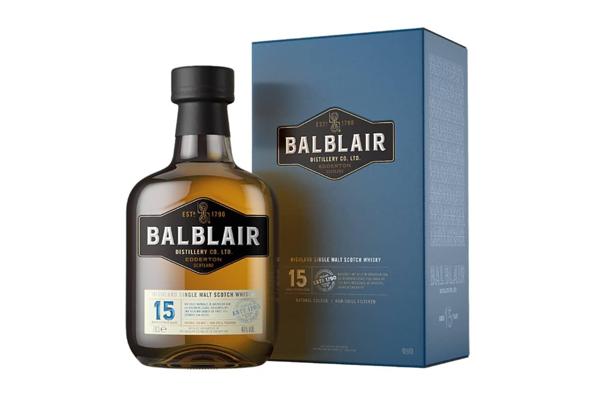 New Balblair Whiskys 15 year old
