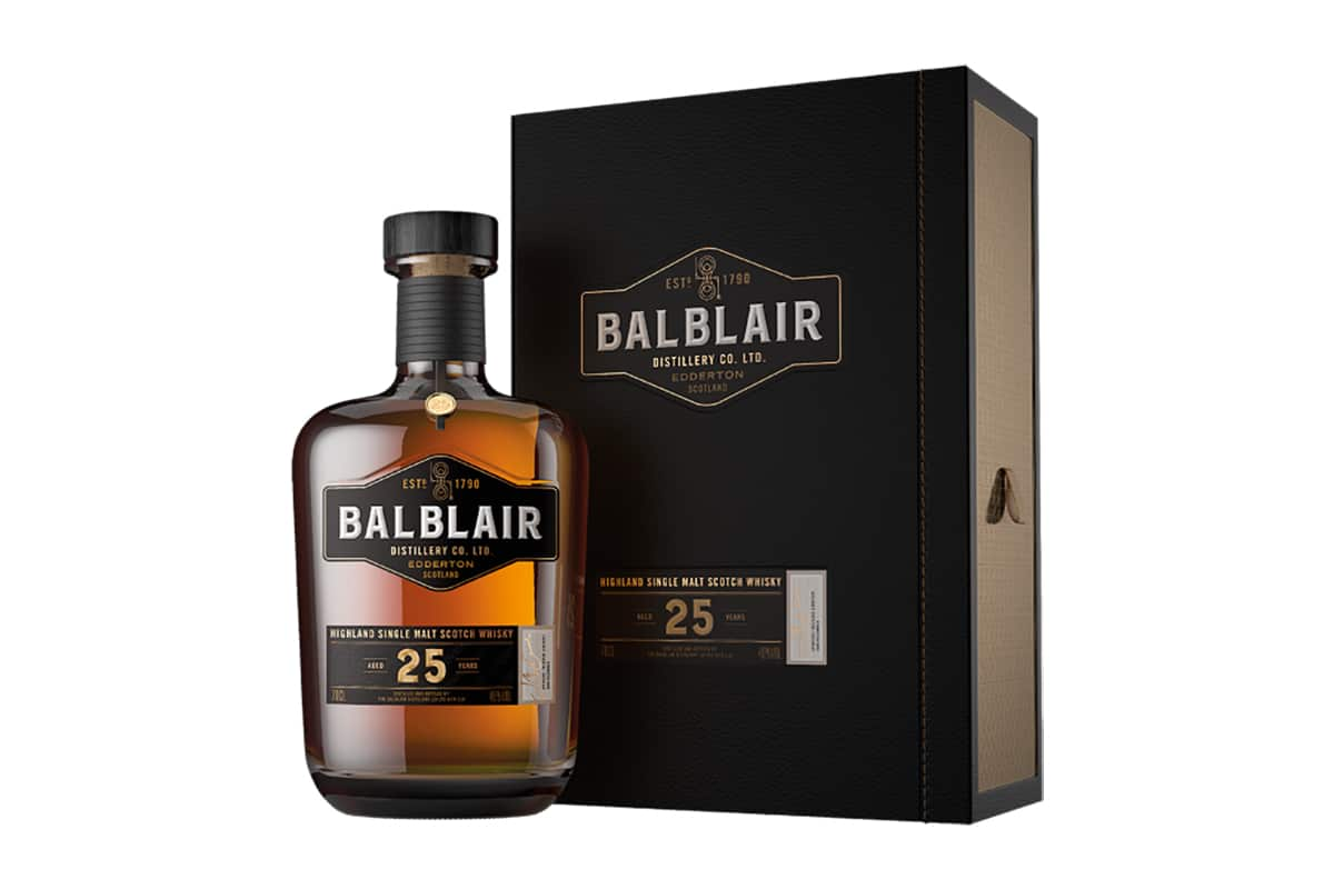 New Balblair Whiskys 25 year old