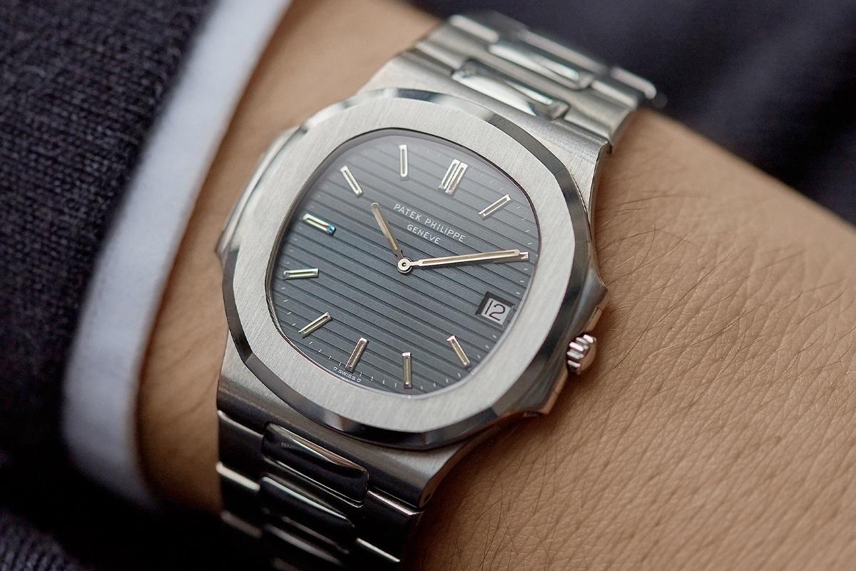 A Patek Philippe watch on a wrist