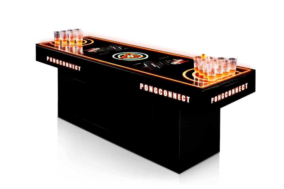 Познакомьтесь с PongConnect — первым в мире электронным интерактивным столом для пивного понга |  Человек многих