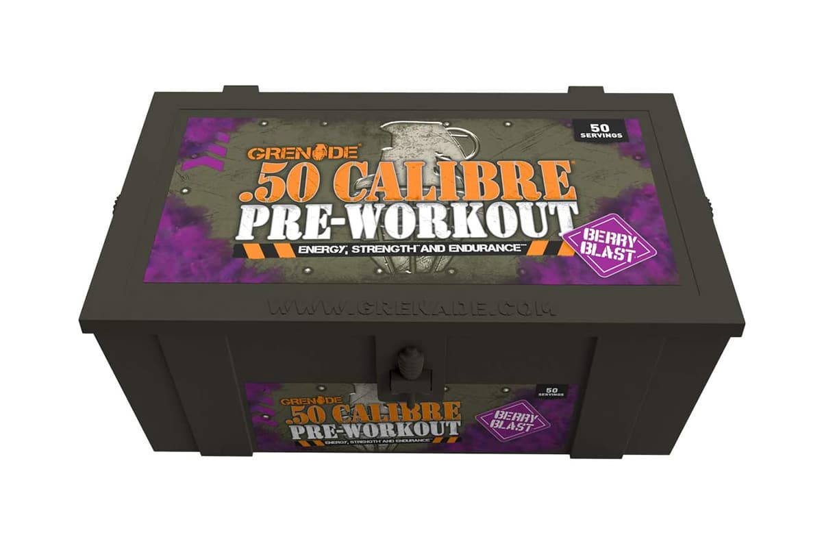 Pre-Workout Everything You Need to Know Grenade 50 Calibre Pre-Workout