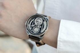 TACS ATL on a man's wrist