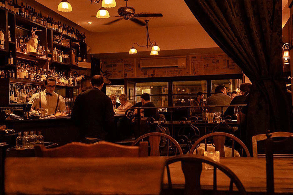 The Woods Cocktail and WhiskyBar