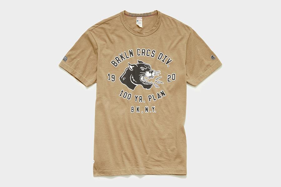 Todd Snyder x Brooklyn Circus brown shirt