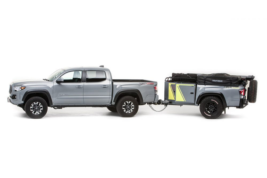 Toyota Overlanding Rig the TRD traveling vehicle
