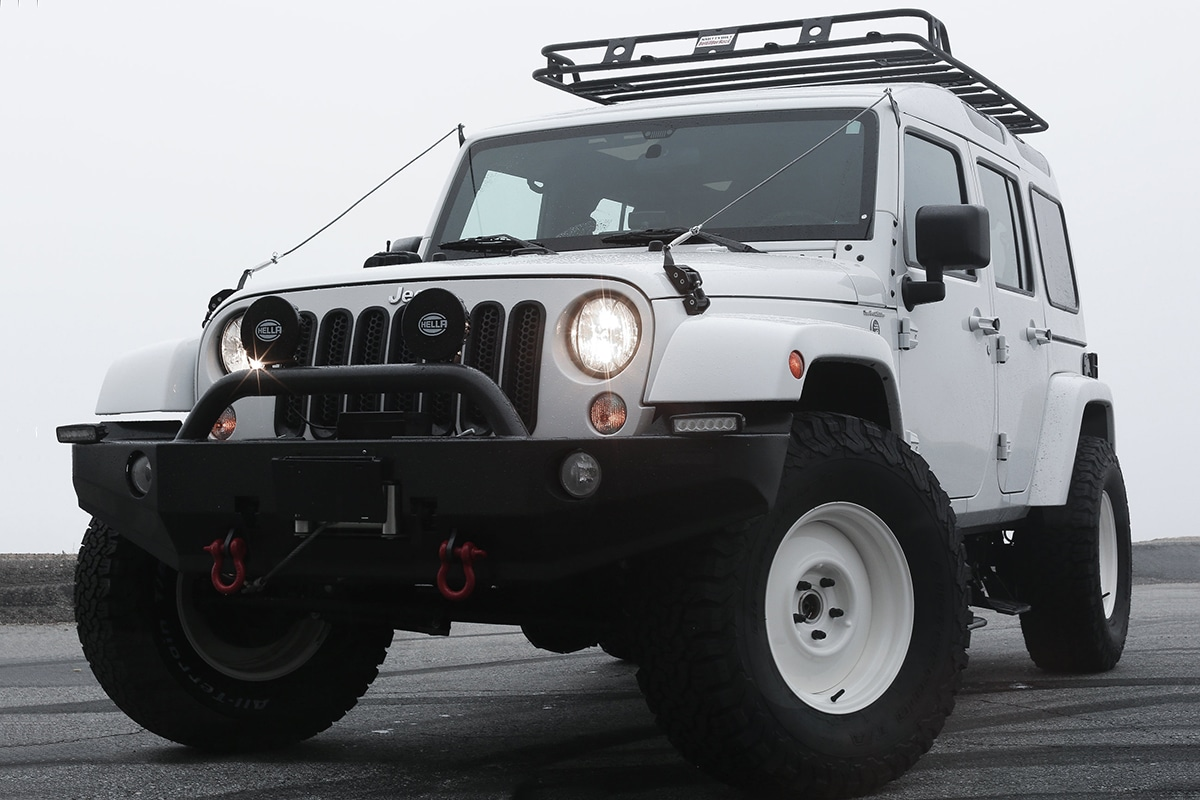 Truth North Jeep Wrangler front view